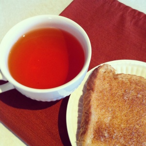 Bread & Water? Or Toast & Tea?!