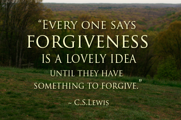 Forgiveness-CSLewisquote