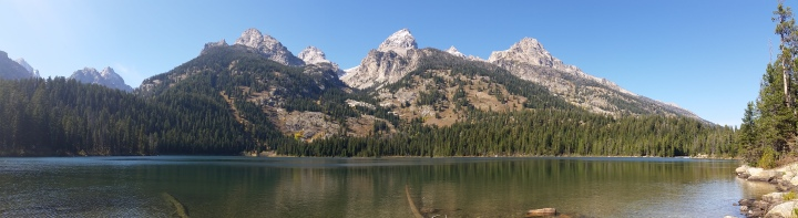 Panoramic view of GT mtns