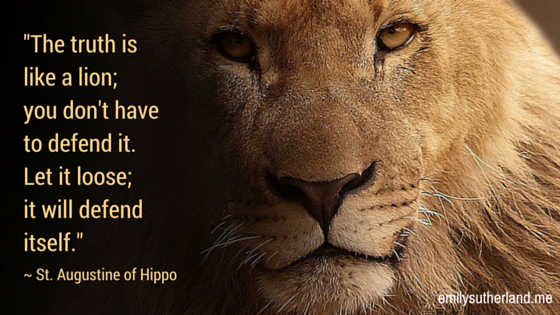 LION -TRUTH QUOTE