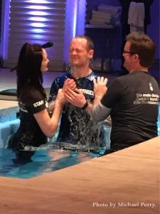 Andrew Marshall baptism