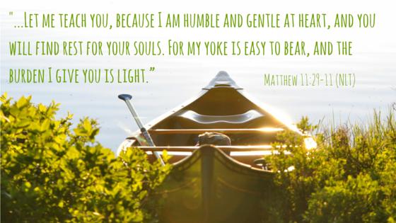 My burden is light -- matthew 11-29-20