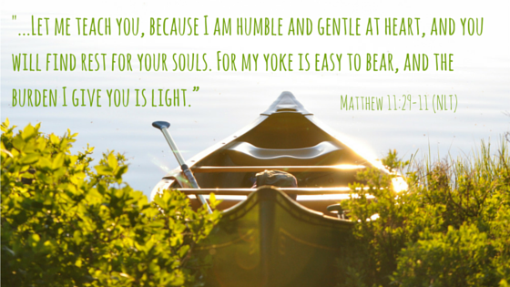 My burden is light -- matthew 11-29-20
